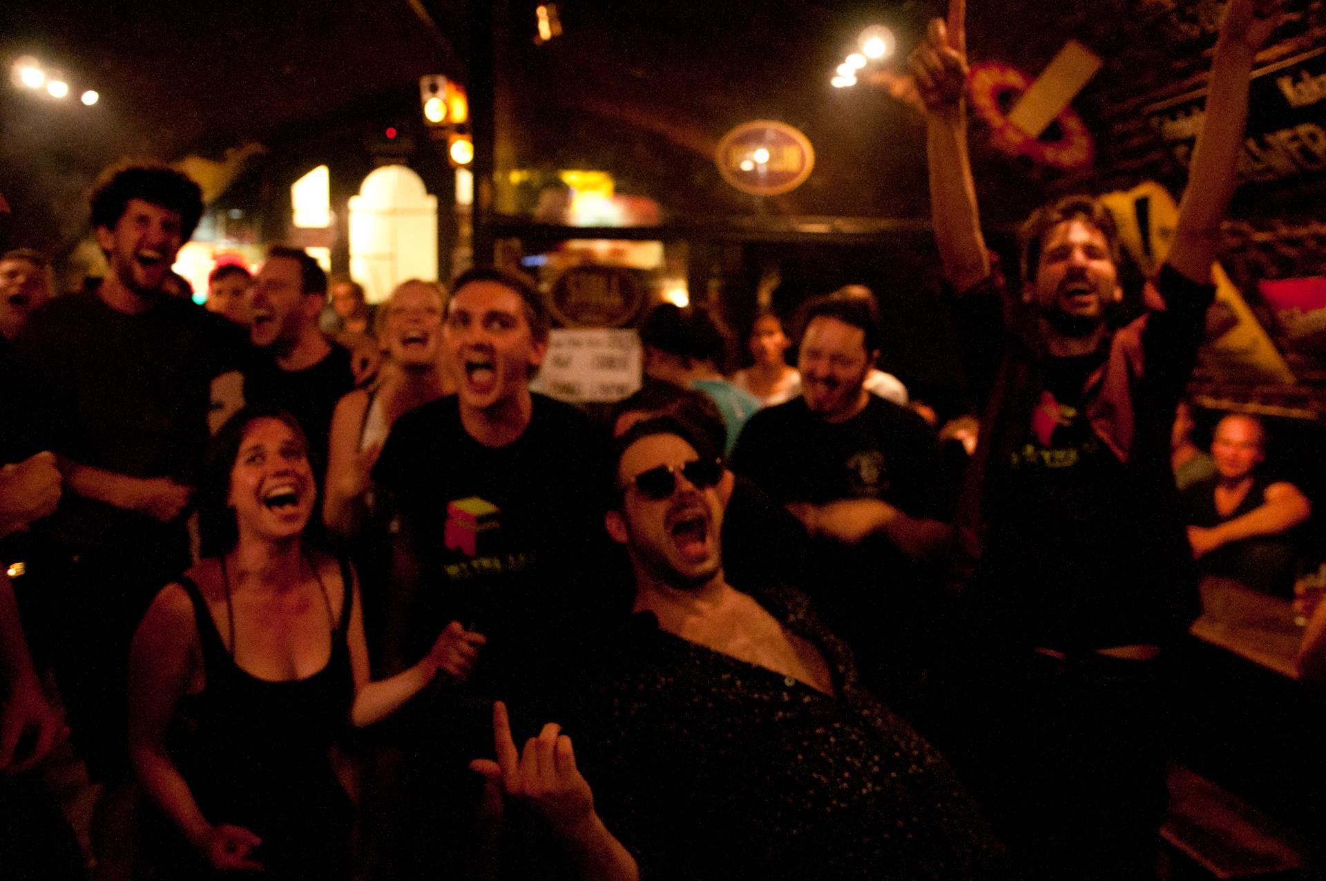 Karaoke Night bei der Shortynale